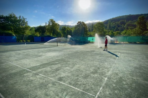 Tennis wieder erlaubt!